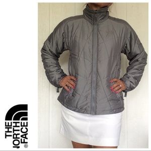 THE NORTH FACE QUILTED DIAMOND PATTERN JACKET L